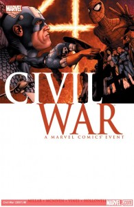Marvel Comics Civil War TP Cover